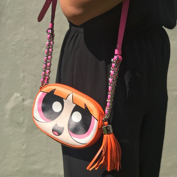 49ecd0b183 Moschino Bags | Powerpuff Girl Leather Shoulder Bag | Poshmark
